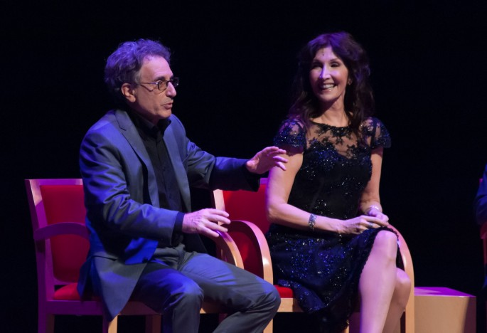 Segerstrom Center - Into the Woods Reunion - Chip Zien, Joanna Gleason - by Doug GIfford (2)